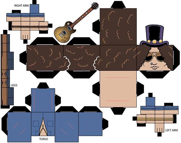 kerrang cubeheads cubeecraft Billie Joe Armstrong slash lemmy Corey Taylor gerard way alex gaskarth Dave Grohl