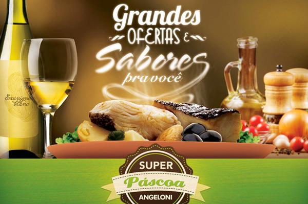 angeloni  Varejo  design Direção de arte PDV  supermercado Supermarket páscoa Easter ovo egg bacalhau almoço