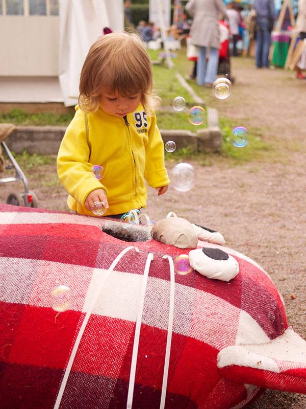 trampoline  cat Fun boo!fest books Fair