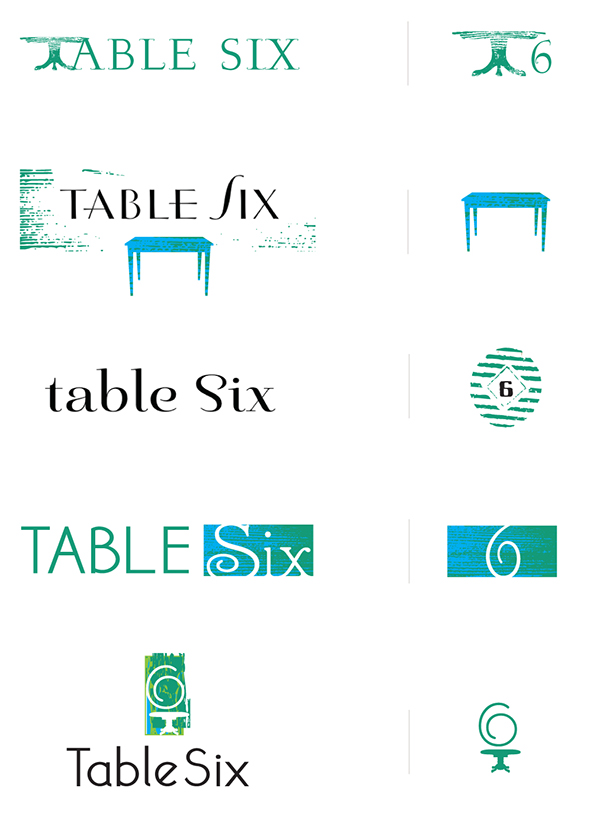 Table six kitchen bar concept on behance for Table 6 north canton menu