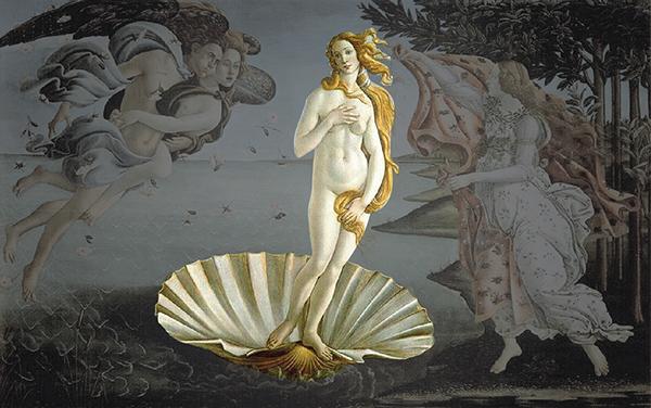 XOUFOURI beauty beautician Greece greek venus Aphrodite murad billboard