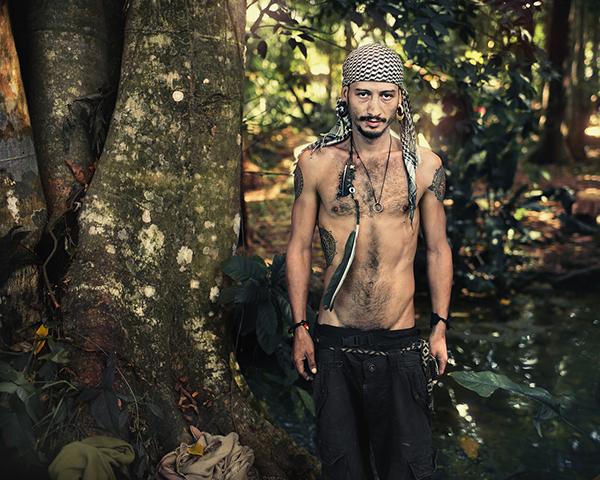 hippie hippy art FINEART Gathering Love Nature wild people portrait community interview sebastien dulude