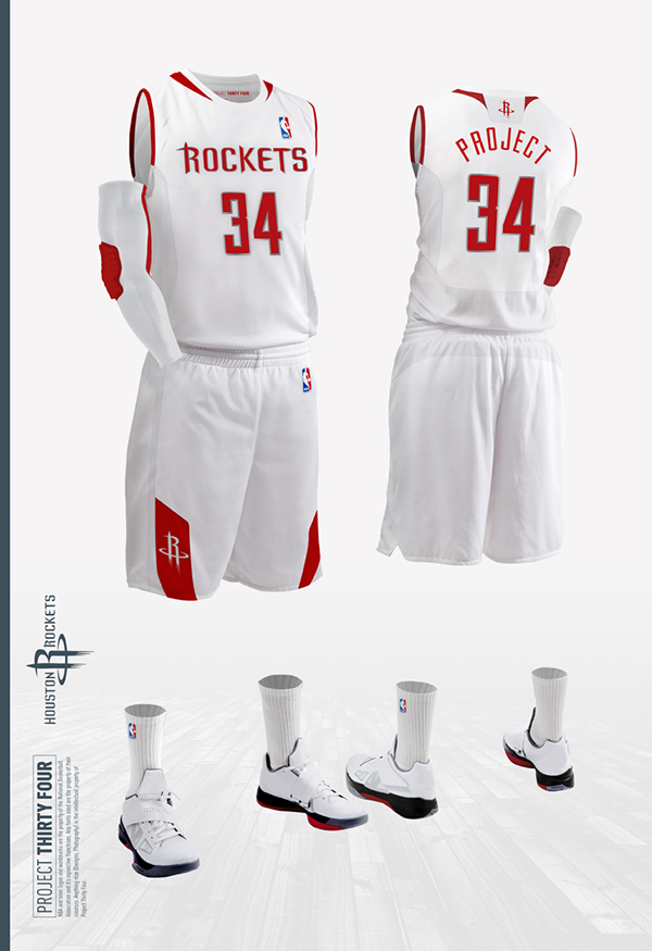 ... 50% off houston rockets jersey concept on behance 97d6a 2d2f0 7a4591fbf327