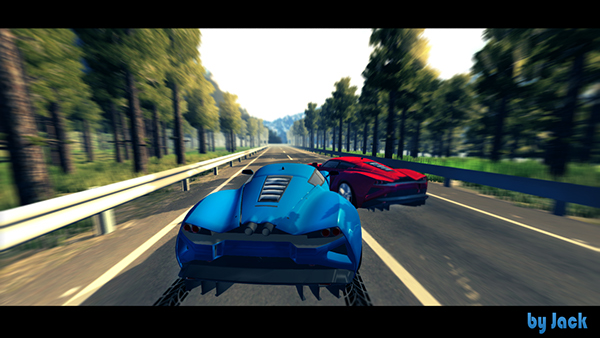 Mobile Racing Game Unity3d On Behance