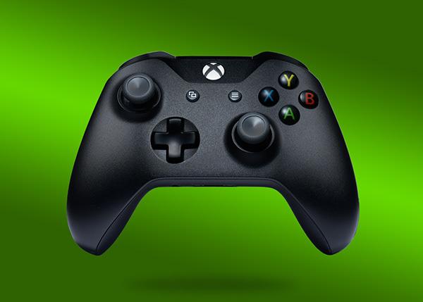 Xbox joystick product photography