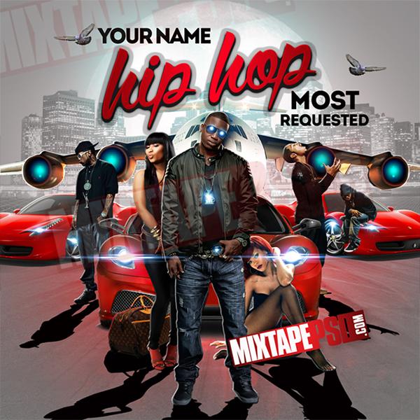 mixtape cover template by mixtapepsd com on behance