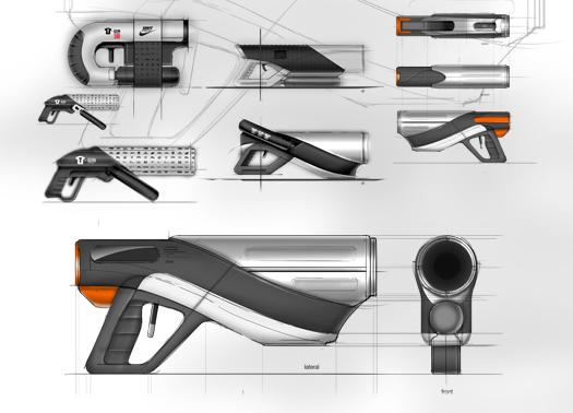 Nsw t shirt gun on industrial design served for Industrial design t shirt