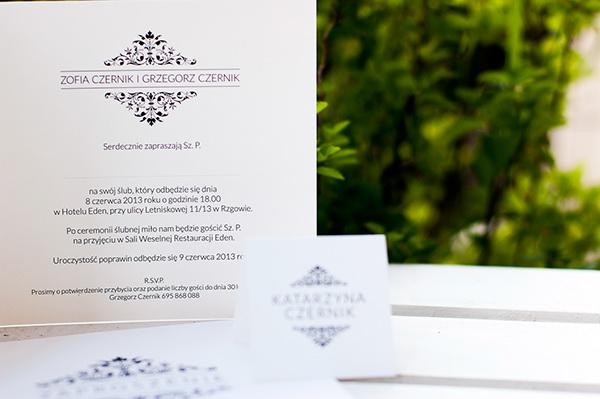 wedding Invitation zaproszenie Slubne zaproszenie ślubne zaproszenia ślubne ślub