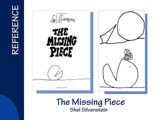 shel silverstein the missing piece - 600×464