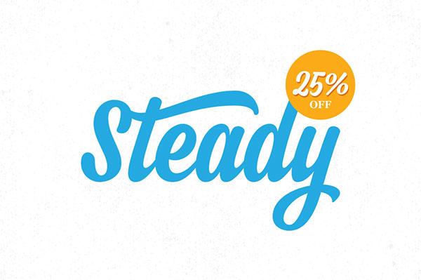 brush sign handwriting flow Opentype natural Script lettering font logo poster Playful modern Typeface elegant
