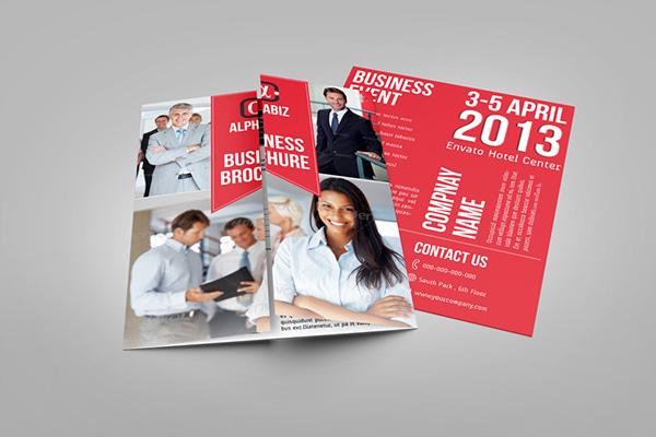Gate Fold Brochure Mock-Up on Behance