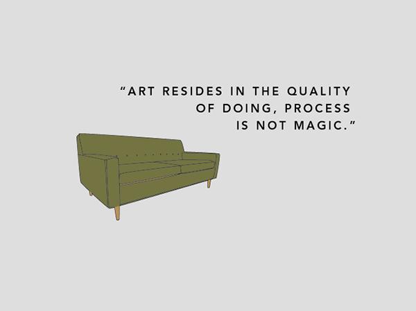 illustrations EAMES mid-century modern