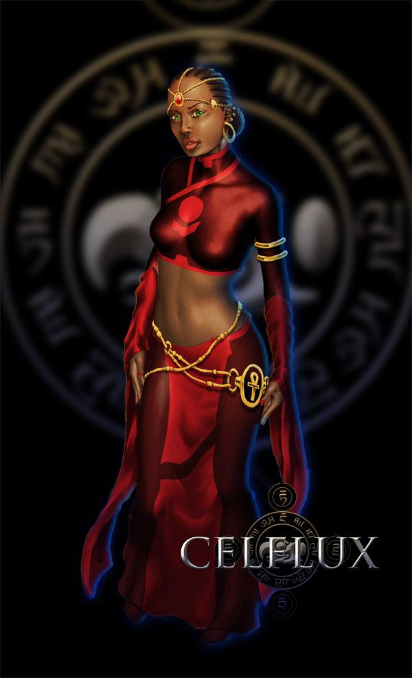 Character Design Graphic Novels : Character design celflux graphic novel on behance