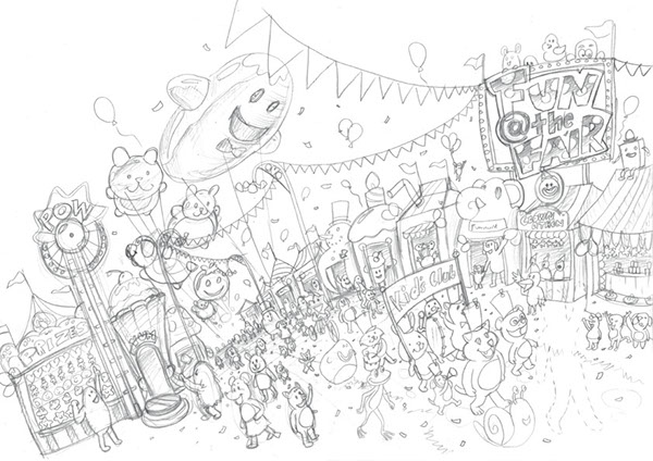Fun Fair Drawing Fun Fair Aims to Increase