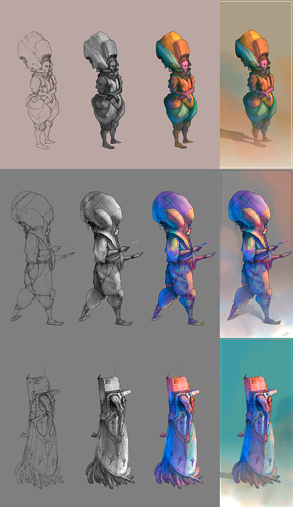 Character Design Exhibition : Character design vol on student show