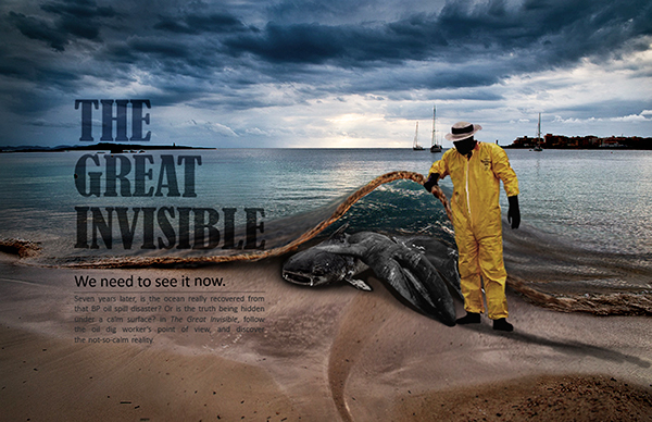 Campaign for movie THE GREAT INVISIBLE on SCAD Portfolios