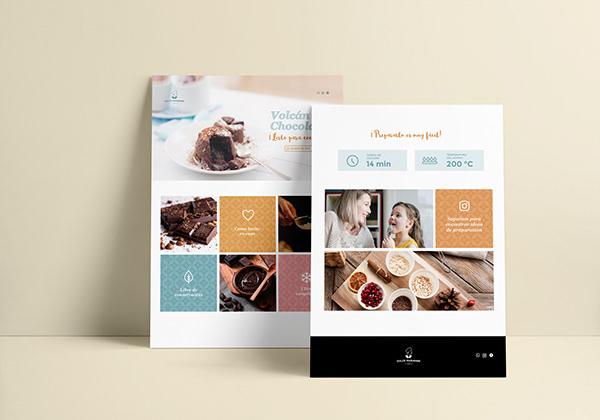 Dulce Marianne - Diseño de landing page y social media