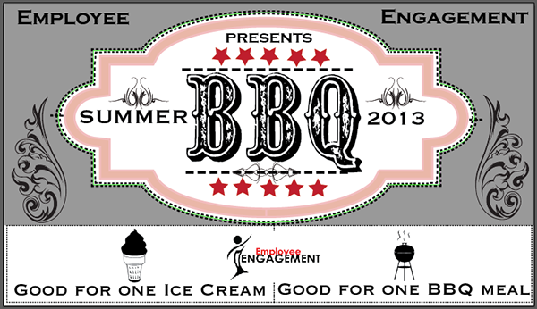 bbq plate sale ticket template