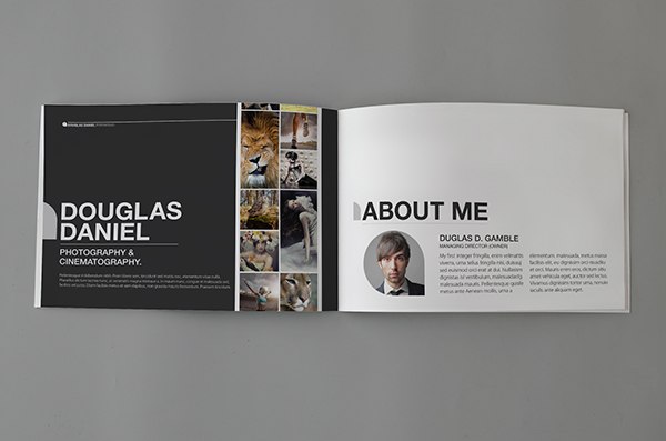 Portfolio Design A5 On Behance