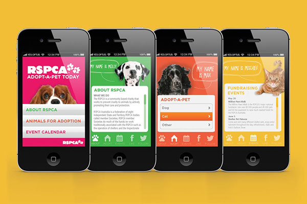 RSPCA: Adopt-a-pet Campaign on Behance