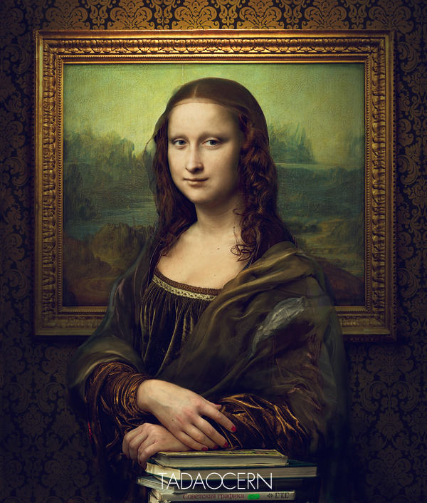 Revealing the truth mona lisa on behance altavistaventures Gallery