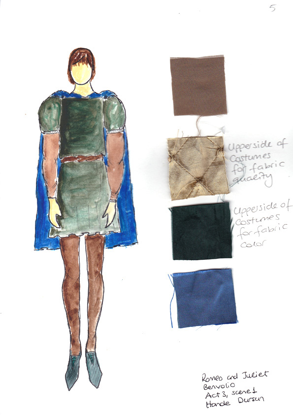 costume design sketches for romeo amp juliet on behance