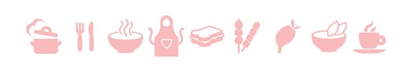 Food   cullinary Blog recipie iphone app logo