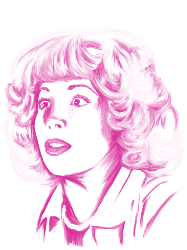 grease frenchy drawing