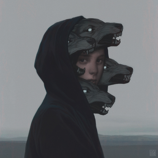 Wolf Pack by YURI SHWEDOFF