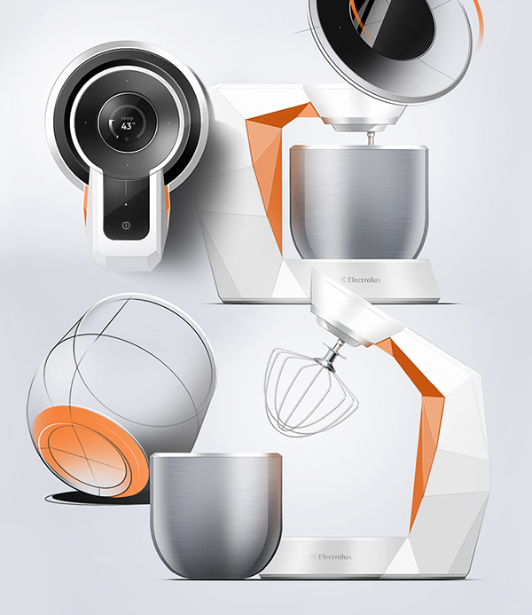electrolux design lab kitchen mixer design product sensi touch