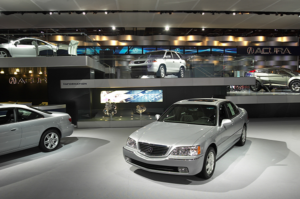 Acura Detroit Auto Show On Behance - Keller car show