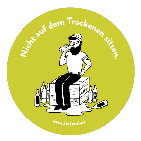 sticker stickers drink drinks delivery crafted FunnyQuotes