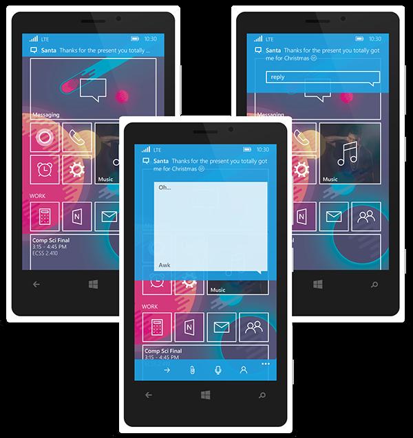 windows windows 10 Cortana xbox Xbox Music concept UI metro