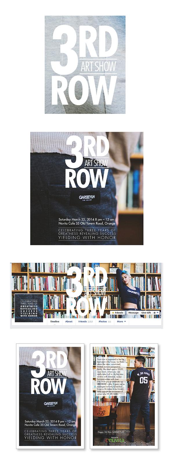 ideation print online facebook instagram flyer Layout