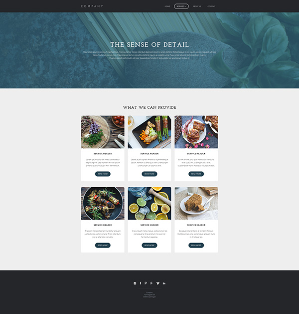Mono.net tempate photoshop denmark copenhagen Webdesign graphics design