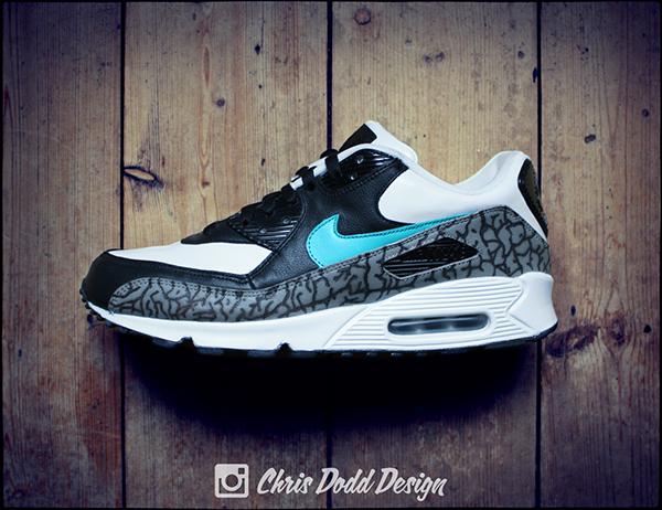 atmos x Nike Air Max 90 Print