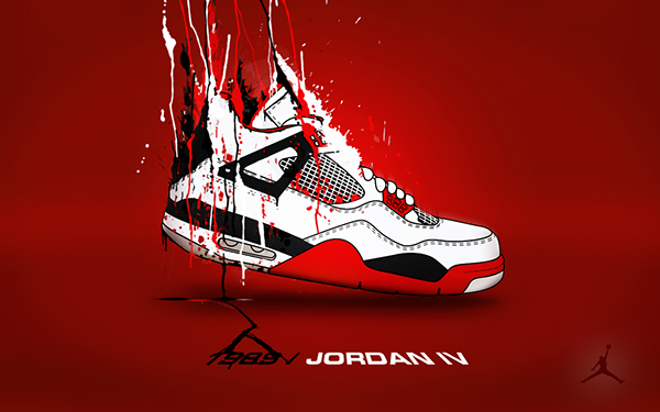 Air Jordans Wallpapers Work In Progress On Student Show