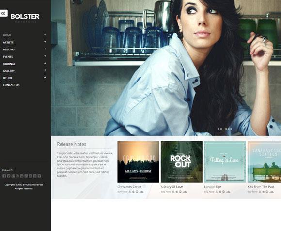 Bolster WordPress Theme on Behance
