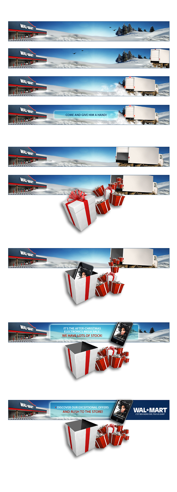 Walmart Canada Rich Media Banner on Behance