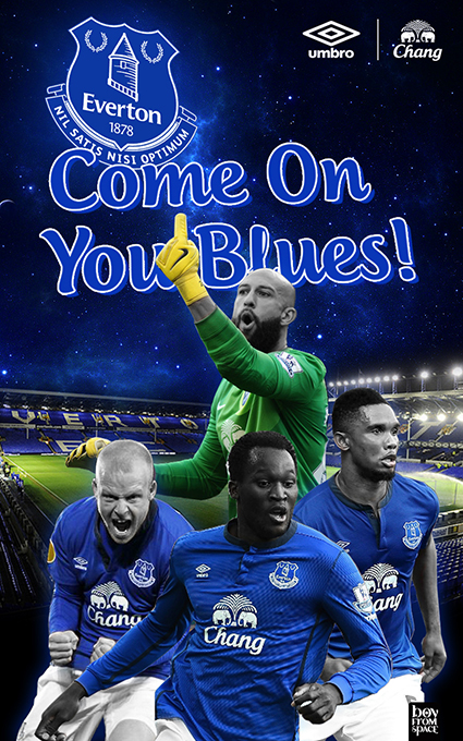 Everton Fc Wallpaper For Android Ios On Behance