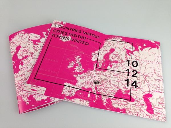 print publishing   book Data design blackandwhite halftone Travel austria Europe graphicdesign