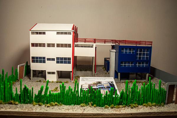 Maqueta de casa estudio frida kahlo y diego rivera on behance for Casa estudio arquitectura
