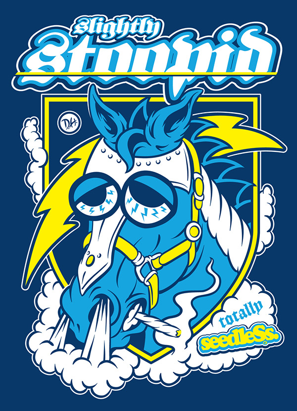 Slightly Stoopid - Promotional Artwork by DH on Behance