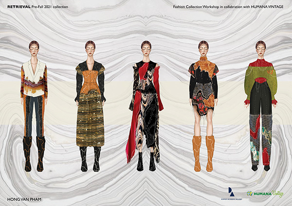 RETRIEVAL   Pre-Fall 21   Upcycling collection