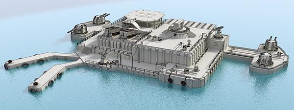 build offshore naval base - 600×225
