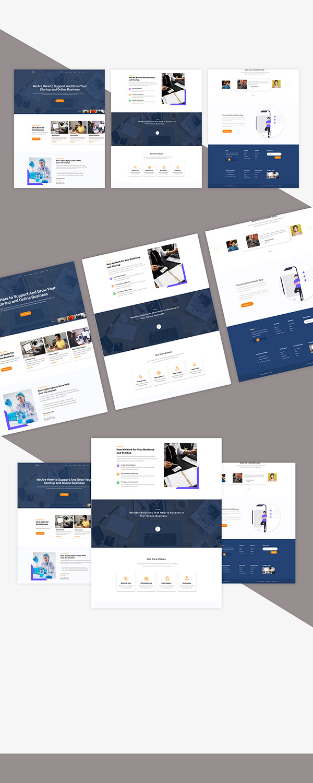 Web Ui PSD template