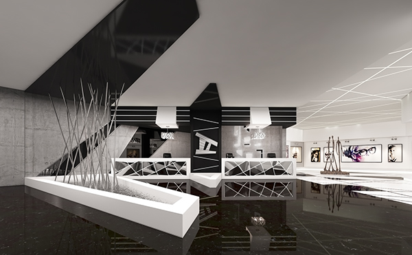 Deconstructivism Furniture Interior Design ~ Deconstruction gallery on behance