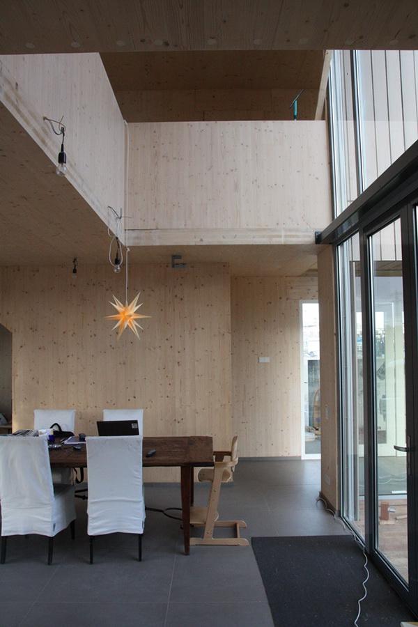 Houten huis ijburg on behance - Moderne verdieping ...