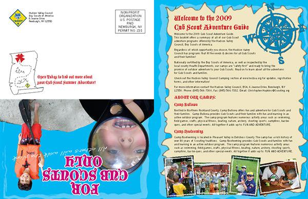 Cub Scout Adventure Brochure 2009 on Behance