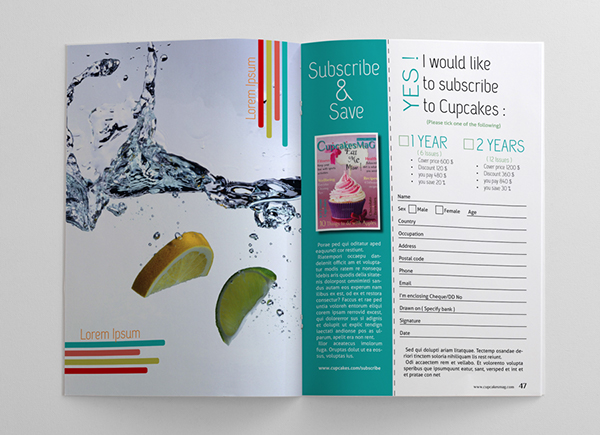 48 Pages Food Magazine Template on Behance